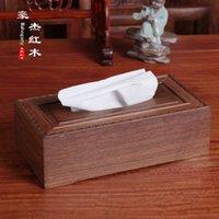 Wholesale Rosewood rosewood rosewood box paper towel tube box wooden box box paper towel napkin