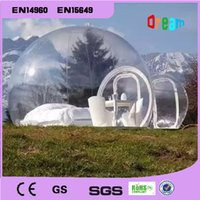 Wholesale Outdoor Camping Bubble Tent Clear Inflatable Lawn Tent Bubble Tent Inflatable Tent