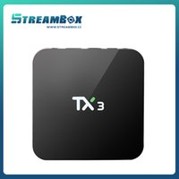 Wholesale set top box ott box TX3 Amlogic S905X up to GHz Quad core ARM Cortex A53