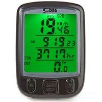 Wholesale Waterproof Digital LCD Cycle Bicycle Bike Computer Odometer Speedometer Cycling