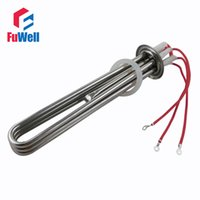 Wholesale Stainless Steel or Red Copper V KW Heating Component Electric Heating Tube Heater with mm Wire