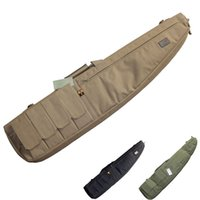 abs cushion - bag abs Tactical Airsoft Paintball Hunting Shooting Rifle Gun Carbine Shotgun Cushion Padded Slip Bag W Mag pouches Carry strap
