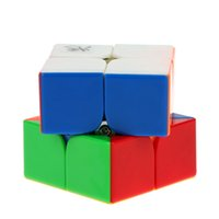 Wholesale Dayan Zhanchi Magic Cube Speed Cubo Anti POP Structure Color Solid Eco friendly Plastics Cube MM DHL T398