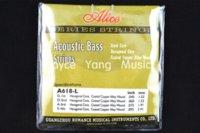 Wholesale Alice A618 L Acoustic Bass Strings Strings Bass Hexagonal Core Strings Wholesales Guitar Parts amp Accessories