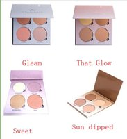 Wholesale A Bronzers Highlight A Glow Kit Face Blush Powder Blusher Palette That glow gleam sun dipped Sweet