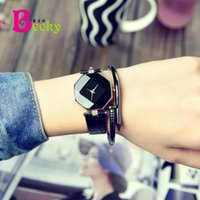 acrylic literature - Simple Girls student Small dial Thin belt Mini modern Literature and art Paper chain popular Watch