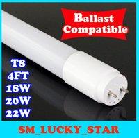 Wholesale ballast compatible t8 led ft led tube foot led light w ft led tube cooler lights warm cold white
