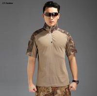 acu shorts - quick dry shirt Men Summer Army Tactical Shirt Military high quality Tops Shirts Hunting Clothing CP ACU Multicamo
