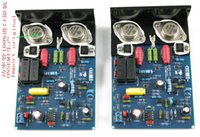 Wholesale QUAD CLONE two channel amplifier with an angular aluminum original MJ15024 power amplifier board