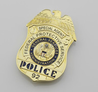 administration services - Federal Protective Service Administration Special Agent Police Metal Badge High Quality Badge For Collection