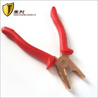 beryllium tools - 200mm Combination Pliers nonmagnetic Beryllium Copper Lineman Pliers Non sparking and Explosion proof Safety Hand Tools