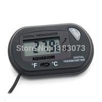 Wholesale Aquarium Tank Water Thermometer Mini Digital LCD Display Temperature Gauge Meter Big Discount