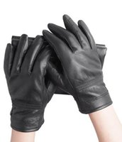 Wholesale Moto Racing Gloves Leather motorcycle gloves cycling gloves Warm Winter Anti slip Leather Motorcycle Gloves black color