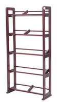 Wholesale Living Room Furniture Wooden Hierarchical CD Rack