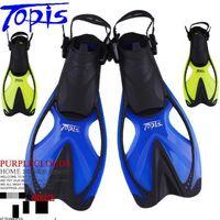 Wholesale Adjustable Long Fins Swimming Flippers Diving Snorkeling Flipper Frog Shoes
