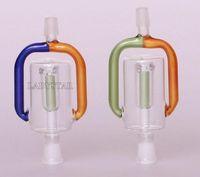 2016 Nouveaux Bongs en Verre Accessoires Ashcatcher Percolateurs en verre Ash Catcher Tubes d'eau en verre de 8mm Mini Bong Pipes Smoking Narguilés