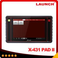 arrival kia - 2016 New Arrival Launch X431 PAD II Original WiFi Update Launch x pad Universal Diagnostic Scanner DHL Free
