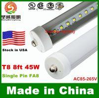 lumens - LED tube FA8 UL T8 ft LED Tube Lights Single Pin FA8 Led Lights W lumens LED Fluorescent Tubes Light AC V