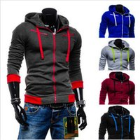 Wholesale Athletiic Multi Color Hoodies Streetwear Winter Thick Long Sleeve Pullover Sweatshirt Hoodies for Men with Zipper