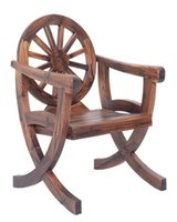 antique garden chair - Living Room Garden Furniture The New Wheel Type Wooden Chairs