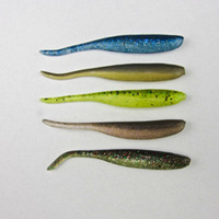 bass grubs - Crazy Fish Salted Fishing Artifical Soft Bait Bass Pike Trout Lure Shad Worm Grub mm g High Density Body