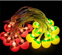 apple string lights - 2016 new led battery box light string Creative small apple shaped room decorated with Christmas lights