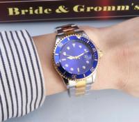 al por mayor nave de lujo-El reloj automático CALIENTE de las mujeres del reloj del cuarzo de los deportes del negocio del reloj de la marca de fábrica de los hombres CALIENTES 2016NEW de la manera Montre Homme libera el envío
