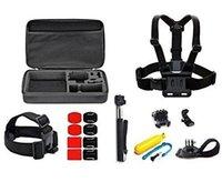 Prezzi Kit e bike-Kit di protezione Custodia Camera Bag Flaoty Bobber Sport Accessorio per Hero4 Sessione Hero3 4 Silver Black SJ4000 in bici e Outdoor Sports