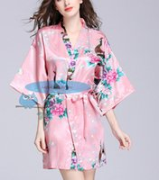 Wholesale wedding party bridal robes hot wedding bridesmaid robes women robes customized robes cheap robes many colors to choose