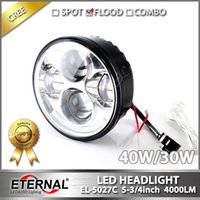 background maker - 5 quot in Harley motorycle headlight PAR45 day maker projector headlamp chrome black background hi low spot flood driving headlight DRL