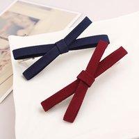 Wholesale 2601 Korean version of the cloth hairpin side bangs clip clip hairpin bow clip hair accessories original headdress
