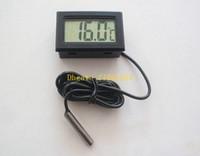 aquarium water temperature controller - 500pcs Hote sale LCD Electronic Fish Tank Water Detector Thermometer Aquarium Digital Thermograph