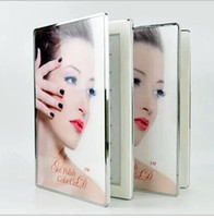 art design cards - 96 Color Crystal Acrylic Glass Delicate Design Nail Art Tool Beauty Salon Display Card Display Box