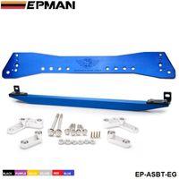 Wholesale Tansky EPMAN Rear Lower Subframe Brace Tie Bar For Honda Civic Golden Silver Blue Red Purple black EP ASBT EG