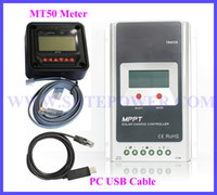 mppt - Tracer A A V V MPPT Solar Charge Controller with MT50 Panel meter PC communication remote