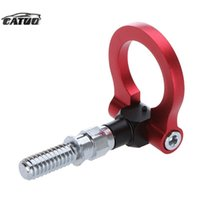 Wholesale Car Racing Tow Towing Hook for BMW Universal European Car Auto Trailer Ring Universal Vehicle Towing Hanger red Hot Selling