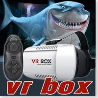 """Android and IOS 3.5 Included Head Mount Plastic VR BOX Version VR Virtual Reality Glasses Rift Google Cardboard 3D Movie for 3.5"""" - 6.0"""" Smart Phone"""