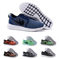 Wholesale Athletic Sports Running Shoes Men Women Cheap ROSHE TWO FLYKNIT jogging outdoors FREE RN Sneakers Size EUR
