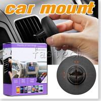 Wholesale Car Mount Air Vent Magnetic Universal magnetic mobile phone holder for iphone S car air vent mount holder stand for cell phone S6