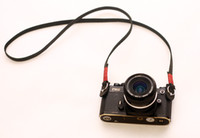 Wholesale Red top mm black handmade Camera neck shoulder strap