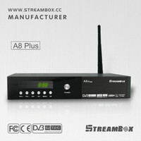 al por mayor dvb-c receiver-android smart box DVB-S2DVB-T2DVB C-4K H.265 1080P potencia vu Hi3796 receptor USB blue3.0 sateliete IRD