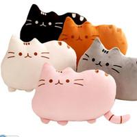 Wholesale pc cm Plush Toy Atuffed Animal Doll Anime Toy Pusheen Cat for Girl Kid Kawaii Cute cushion Car Decoration Brinquedos