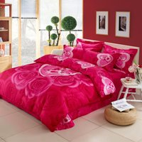 Wholesale Affect cotton reactive printing bedding set bedsheet duvet cover pillowcase home textile bed clothes