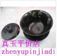 active green tea - Rich in active iron dark green jade Coffee cup beer mug health jade tureen tea cups fine workmanship exquisite material