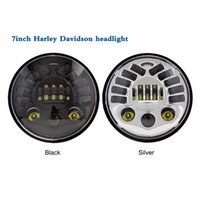 adaptive headlight - Newest inch round high low beam H4 led adaptive headlight for Harley Davidson motorcycle DOT approval