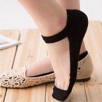 beautiful slippers - Summer Women s Ultrathin Socks Transparent Beautiful Crystal Lace Elastic Invisible Short Sock Slippers