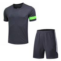 Wholesale Men s casual Sports T shirt Two piece suit Original famous brand T shirts Basketball football clothes Running Sportswear suit shirt No N1KE9