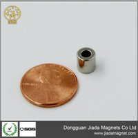 Wholesale super strong permanent axially magnetized ring magnets