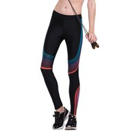 Cheap Women Yoga Compression Pants Elastic Tights Female Exercise Sports Fitness Jogging Jogger Running Trousers Gym Slim Leggings