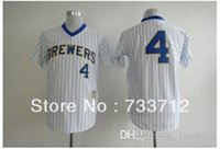 american paul - 2015 New New Top quality Milwaukee Brewers Paul Molitor American